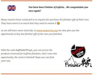 You have been Finisher of Eufòria...
